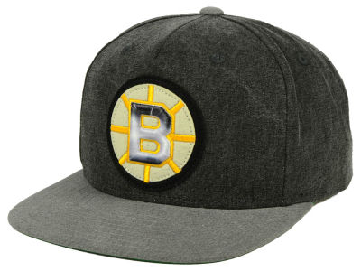 Boston Bruins adidas NHL 2Tone Snapback Cap