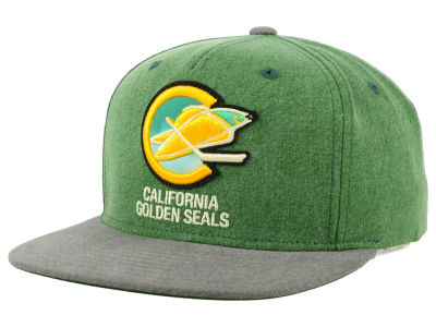 California Golden Seals adidas NHL 2Tone Snapback Cap