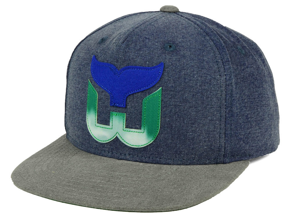 e5a00189e Hartford Whalers adidas NHL 2Tone Snapback Cap