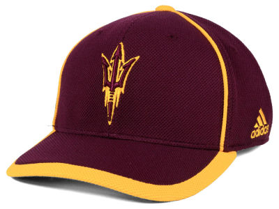 Arizona State Sun Devils adidas NCAA Piping Hot Adjustable Cap