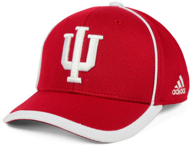 Indiana Hoosiers adidas NCAA Piping Hot Adjustable Cap