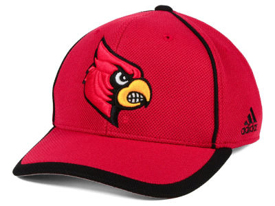 Louisville Cardinals adidas NCAA Piping Hot Adjustable Cap