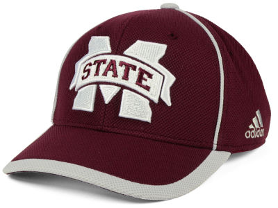 Mississippi State Bulldogs adidas NCAA Piping Hot Adjustable Cap
