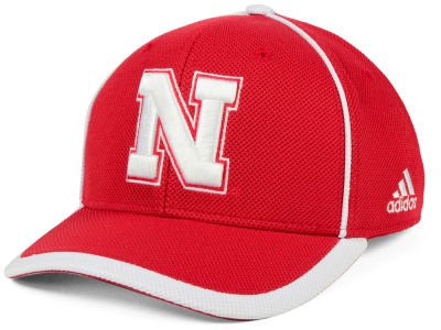 Nebraska Cornhuskers adidas NCAA Piping Hot Adjustable Cap