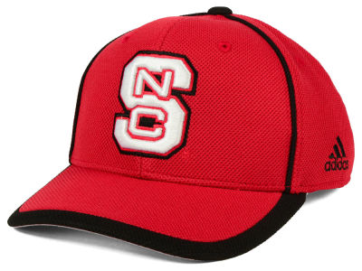 North Carolina State Wolfpack adidas NCAA Piping Hot Adjustable Cap