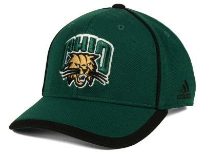 Ohio Bobcats adidas NCAA Piping Hot Adjustable Cap