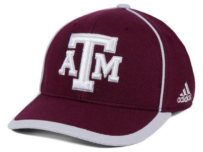 Texas A&M Aggies adidas NCAA Piping Hot Adjustable Cap