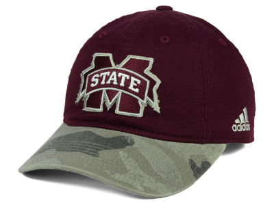 Mississippi State Bulldogs adidas NCAA Camo Code Slouch Cap