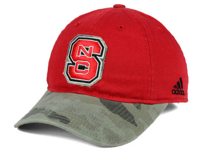 North Carolina State Wolfpack adidas NCAA Camo Code Slouch Cap