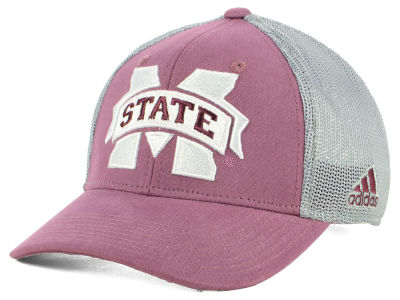 Mississippi State Bulldogs adidas NCAA Faded Flex Cap