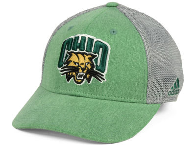 Ohio Bobcats adidas NCAA Faded Flex Cap