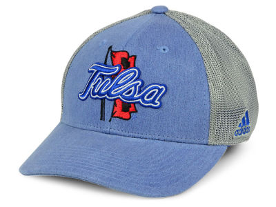 Tulsa Golden Hurricane adidas NCAA Faded Flex Cap
