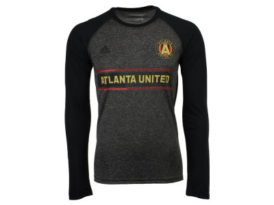 Atlanta United FC adidas MLS Men's Midfielder Raglan Long Sleeve T-Shirt