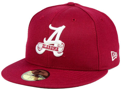 Alabama Crimson Tide New Era NCAA Vault 59FIFTY Cap