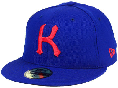 c5f041333d8 Kansas Jayhawks New Era NCAA Vault 59FIFTY Cap