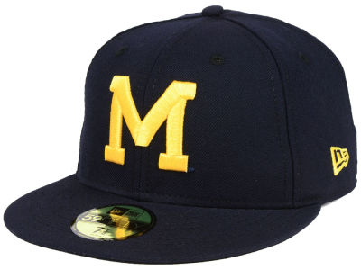 Michigan Wolverines New Era NCAA Vault 59FIFTY Cap