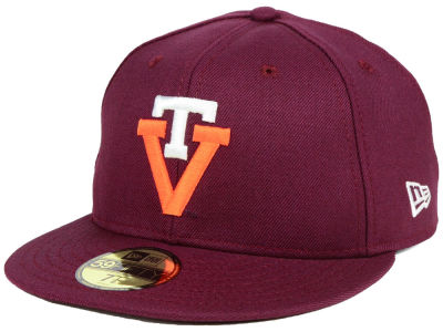 Virginia Tech Hokies New Era NCAA Vault 59FIFTY Cap
