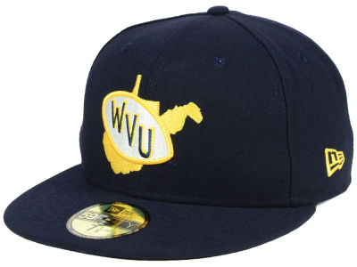 West Virginia Mountaineers New Era NCAA Vault 59FIFTY Cap