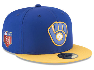 Milwaukee Brewers New Era 2018 MLB Spring Training Prolight 59FIFTY Cap