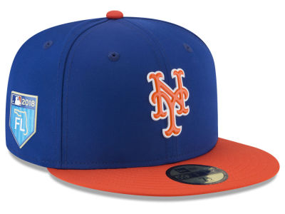New York Mets New Era 2018 MLB Spring Training Prolight 59FIFTY Cap