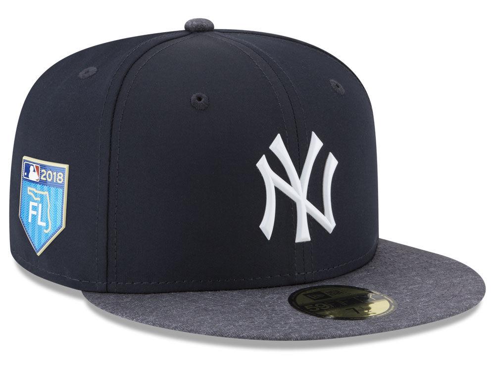 b3537b66f02 New York Yankees New Era 2018 MLB Spring Training Prolight 59FIFTY Cap
