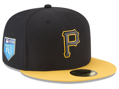 Pittsburgh Pirates New Era 2018 MLB Spring Training Pro Light 59FIFTY Cap