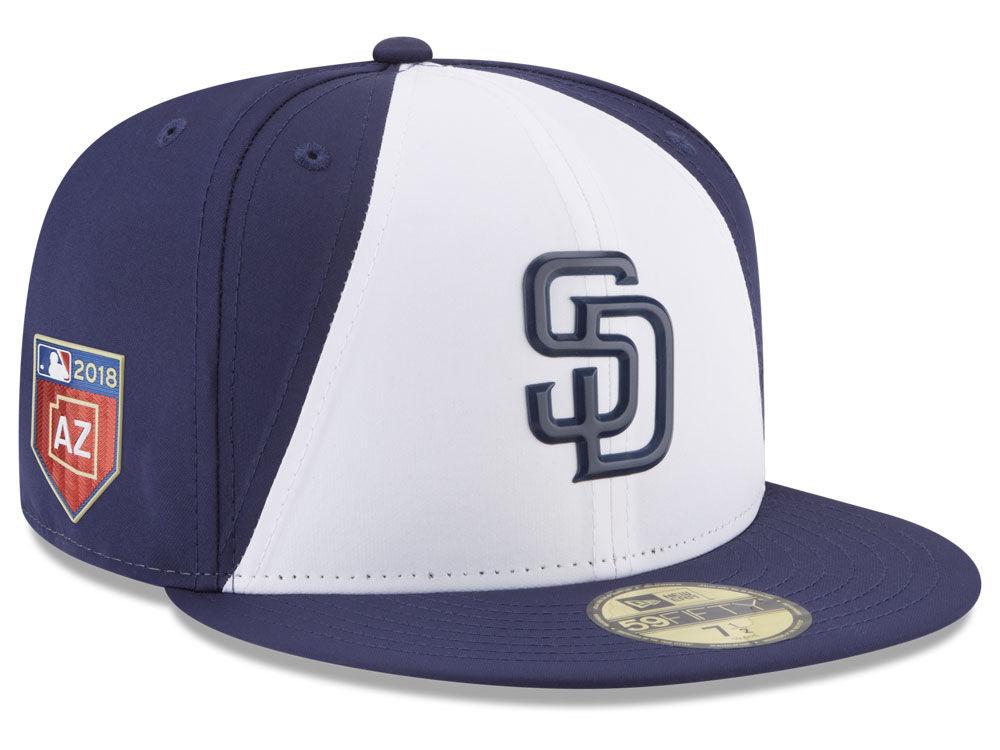 ff8819629 San Diego Padres New Era 2018 MLB Spring Training Prolight 59FIFTY Cap