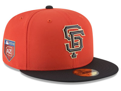 San Francisco Giants New Era 2018 MLB Spring Training Pro Light 59FIFTY Cap