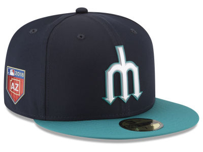 Seattle Mariners New Era 2018 MLB Spring Training Pro Light 59FIFTY Cap