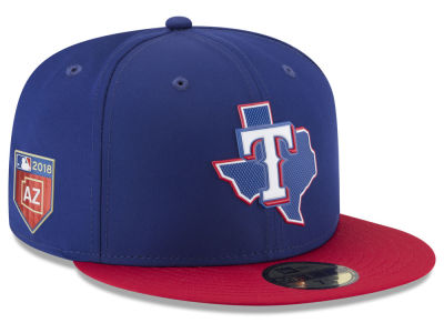 Texas Rangers New Era 2018 MLB Spring Training Prolight 59FIFTY Cap