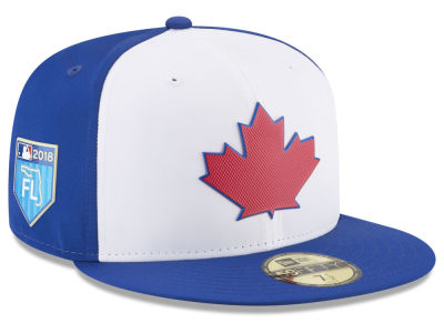 Toronto Blue Jays New Era 2018 MLB Spring Training Pro Light 59FIFTY Cap