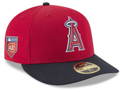 Los Angeles Angels New Era 2018 MLB Spring Training Prolight Low Profile 59FIFTY Cap