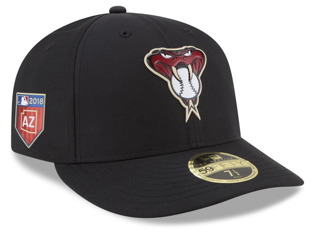 Arizona Diamondbacks New Era 2018 MLB Spring Training Prolight Low Profile  59FIFTY Cap 3004777a142