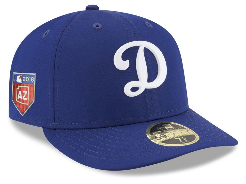 Los Angeles Dodgers New Era 2018 MLB Spring Training Prolight Low Profile  59FIFTY Cap  9b83382670e8