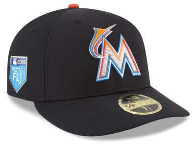 Miami Marlins New Era 2018 MLB Spring Training Prolight Low Profile 59FIFTY Cap