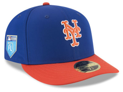 New York Mets New Era 2018 MLB Spring Training Prolight Low Profile 59FIFTY Cap