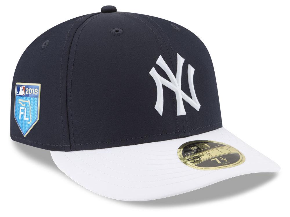 New York Yankees New Era 2018 MLB Spring Training Prolight Low Profile  59FIFTY Cap  4e7eaba417d