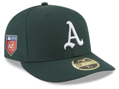 Oakland Athletics New Era 2018 MLB Spring Training Prolight Low Profile 59FIFTY Cap