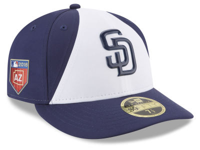 San Diego Padres New Era 2018 MLB Spring Training Prolight Low Profile 59FIFTY Cap