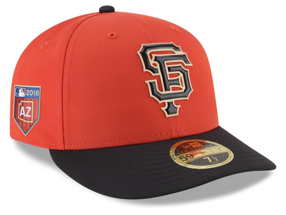 San Francisco Giants New Era 2018 MLB Spring Training Prolight Low Profile  59FIFTY Cap  1550e03657cf