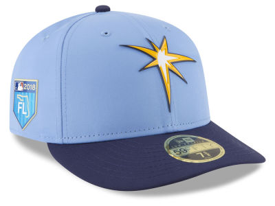 Tampa Bay Rays New Era 2018 MLB Spring Training Prolight Low Profile 59FIFTY Cap