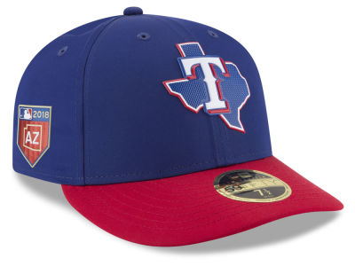 Texas Rangers New Era 2018 MLB Spring Training Prolight Low Profile 59FIFTY Cap