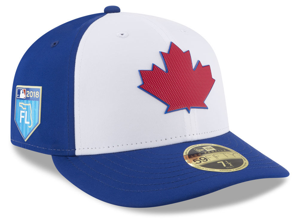 Toronto Blue Jays New Era 2018 MLB Spring Training Prolight Low Profile  59FIFTY Cap  9a3905a2124