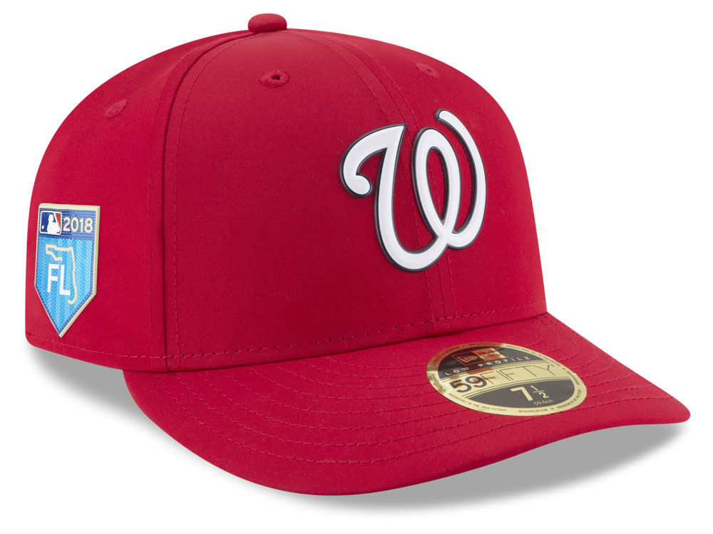 a0ed065c3a5 Washington Nationals New Era 2018 MLB Spring Training Prolight Low Profile 59FIFTY  Cap