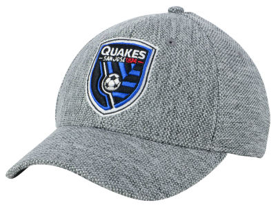 San Jose Earthquakes adidas MLS Penalty Kick Flex Cap
