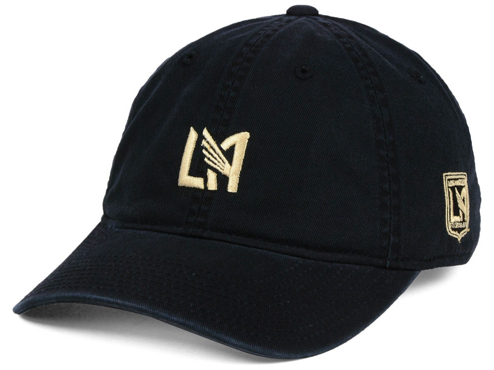 competitive price 8e1d2 866d0 ... wholesale los angeles football club adidas mls partial logo dad hat  76e8d 09924