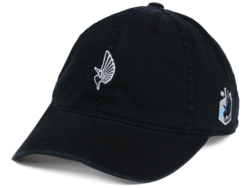 new arrival 1ccd1 f6c30 inexpensive minnesota united fc adidas mls partial logo dad hat 74ef8 c79d1