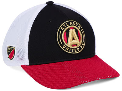 Atlanta United FC adidas MLS Authentic Mesh Adjustable Cap