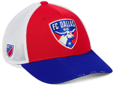 FC Dallas adidas MLS Authentic Mesh Adjustable Cap