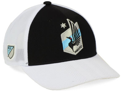 Minnesota United FC adidas MLS Authentic Mesh Adjustable Cap